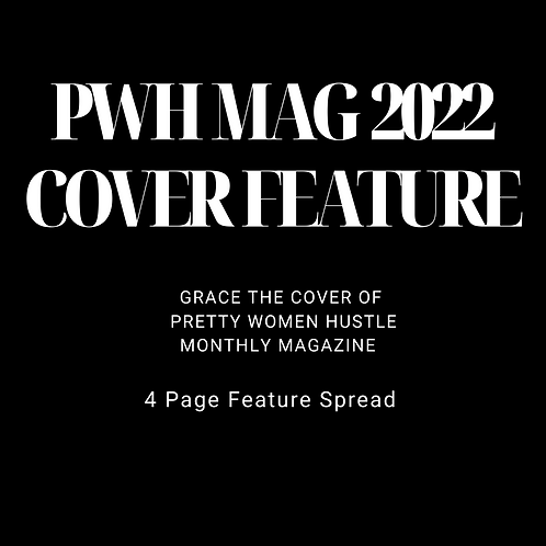 Monthly Magazine Cover Feature