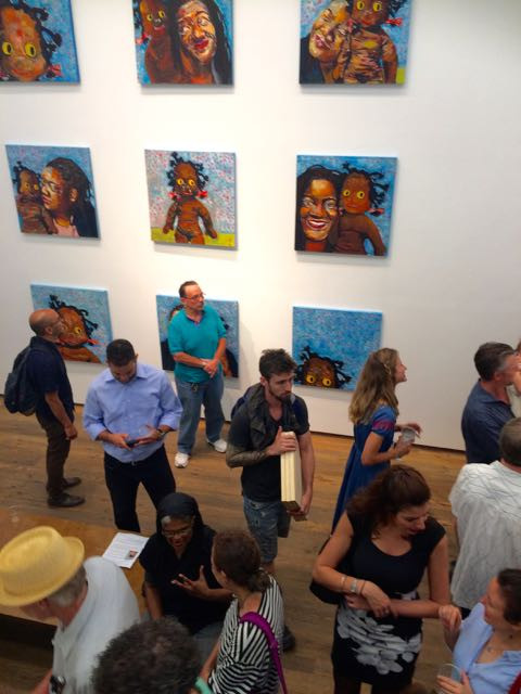 Beverly McIver opening