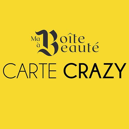 CARTE CRAZY !