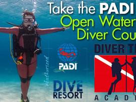 PADI Open Water Diver, il tuo primo passo