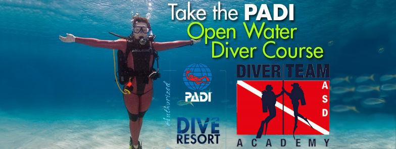 scuola corsi sub Pavia Corso PADI Open Water Diver
