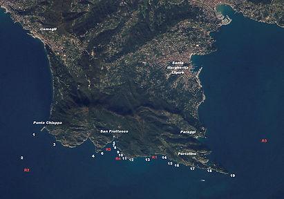 immersioni al promontorio di portofino