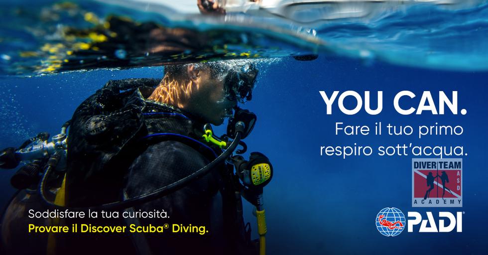 Prova il Discover Scuba Diving