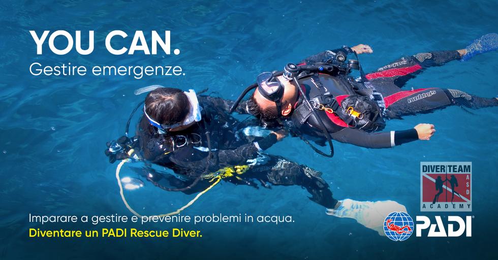 Diventa un PADI Rescue Diver