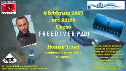 Prima Lezione corso PADI Freediver
