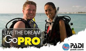 GO PRO PADI Pavia Diver Team Academy ASD