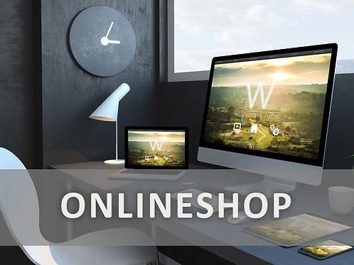 Webshop BASIC - Online-Shop mit einem Produkt als Vorlage