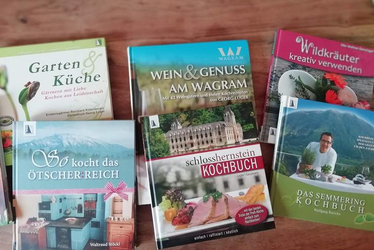 Einige Kochbücher