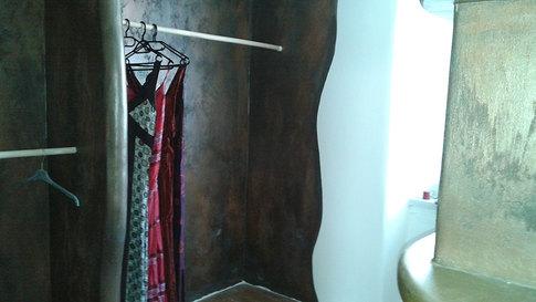 Kleiderpräsentation bauen