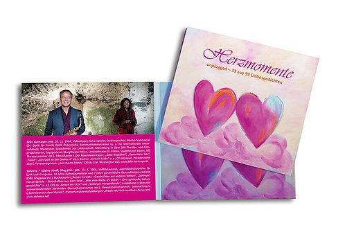Hörbuch - CD: Herzmomente Unplugged - 33 aus 99 Liebesgedichten