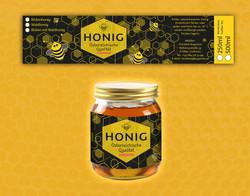 Honig Etikett