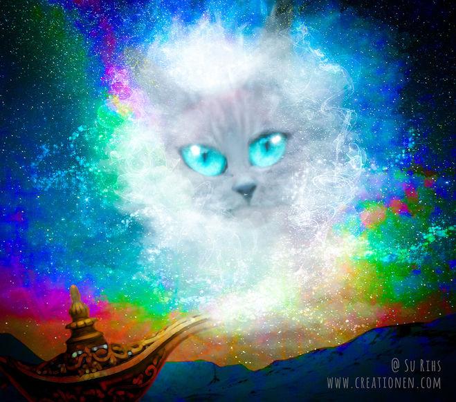 cosmic genie cat