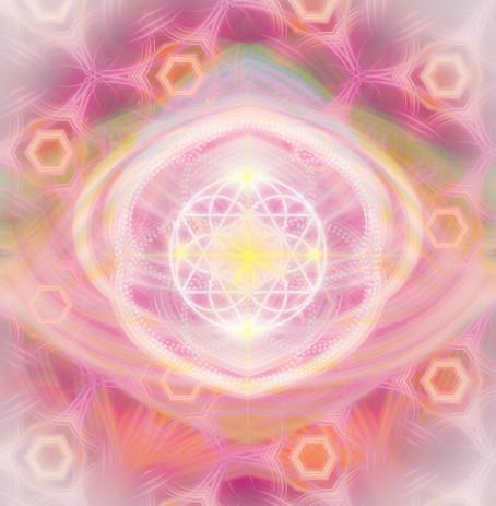 Ruhe und Frieden Lichtsymbol