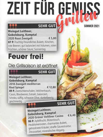 Genuss Magazin Beilage Grillen