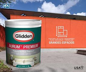 intermedia aurum premium glidden