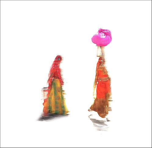 Roni Ben Simhon, Two women in India