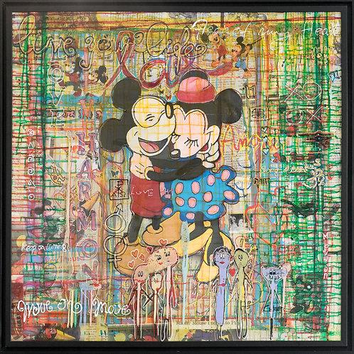 Alek Gerber, Minnie & Mickey in love, 2020