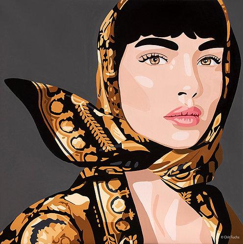 Orit Fuchs: Vivid 100 - Oil & Acrylic female figure painting