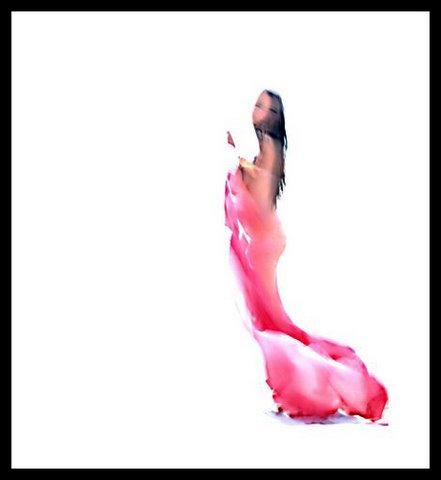 Roni Ben Simhon, Women in pink dress