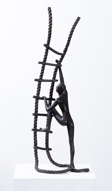 Tolla Inbar, Ambition, Bronze sculpture