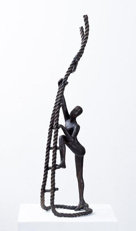 Tolla Inbar, Ambitious New, Bronze sculpture