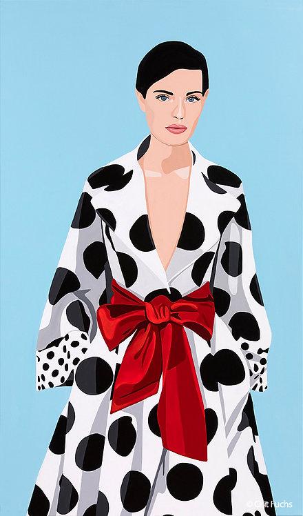 Orit Fuchs: Vivid 69 - Acrylic female figure painting