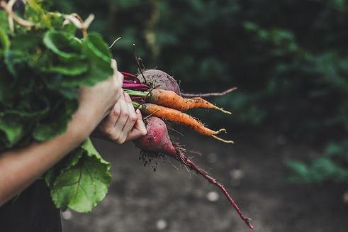 Picking verdure