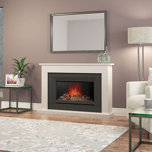 Elgin & Hall Wellsford Micro Marble Electric Fireplace