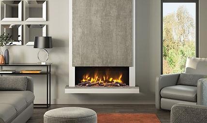 Elgin & Hall Camino Electric Fireplace