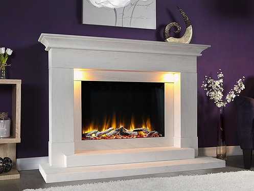 Celsi Ultiflame VR Aleesia Illumia Electric Fire Suite