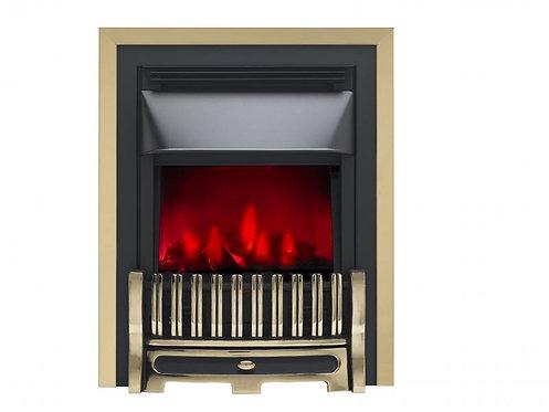 Valor Alton Dimension Brass Inset Electric Fire