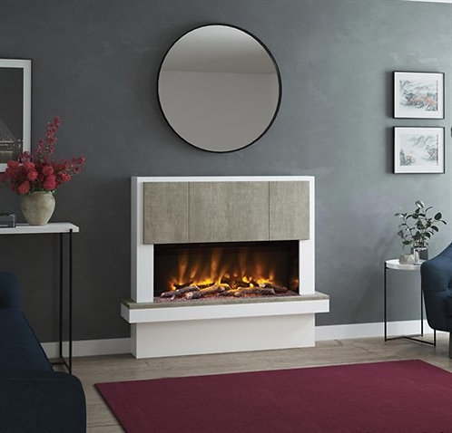 Elgin & Hall Caselli Pryzm Electric Fireplace