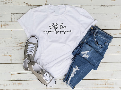 Self Love is your Superpower Tee
