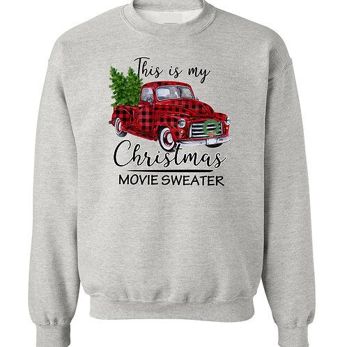 Christmas Movie watching Sweater