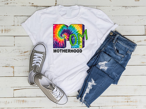 Tie Dye 90's Mom TV