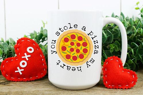 You stole a Pizza my Heart mug