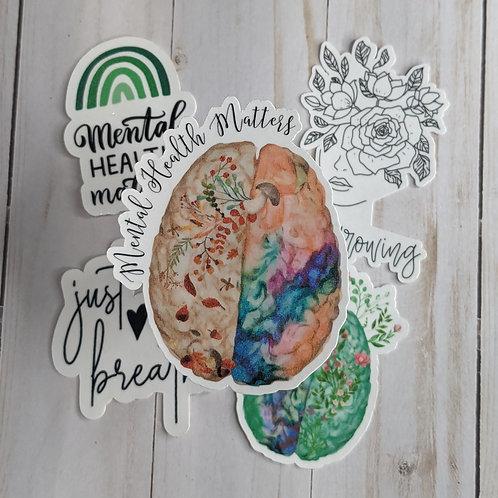 Mental Health Awareness (Sticker pack)