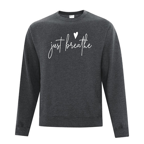 """Just Breathe"" Crewneck Sweater"