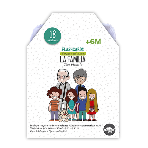 Flash Cards La Familia