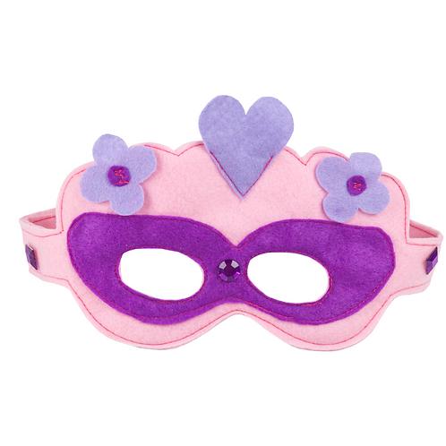 Decora Mascara y Brazalete de Super Heroína
