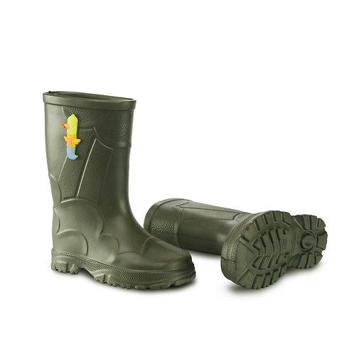 Botas de Lluvia Verde Militar