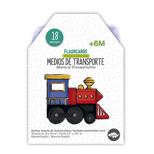 Flash Cards Medios de Transporte