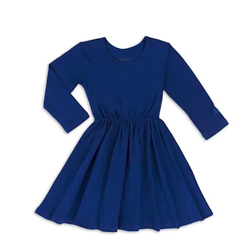 Vestido Ballet Azul Petroleo