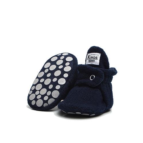 Bota Fleece Gripper - Azul Oscuro