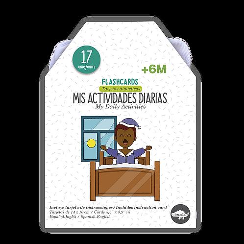 Flash Cards Actividades Diarias
