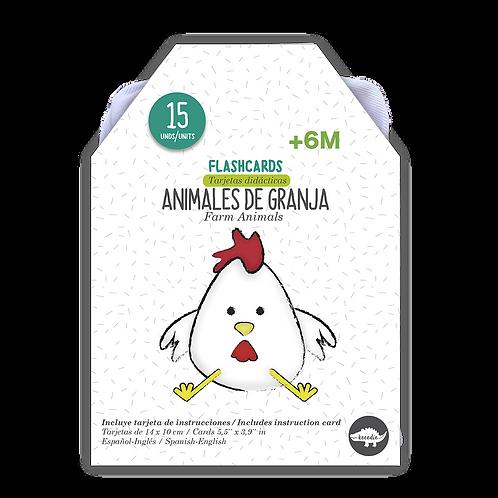 Flash Cards Animales de la Granja