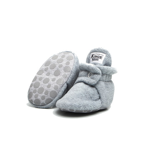 Bota Fleece Gripper - Gris