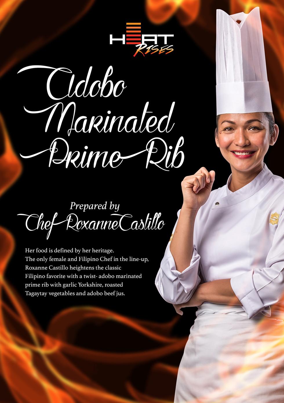 Adobo Marinated Prime Rib - Signature Di