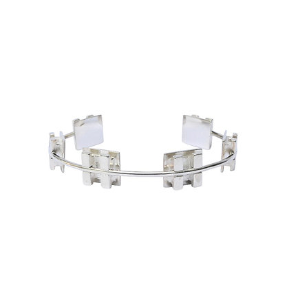 Small Silver Brace Let