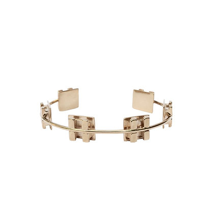 Small Gold Brace Let